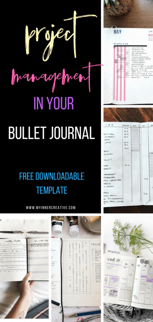 Project Management Bullet Journal