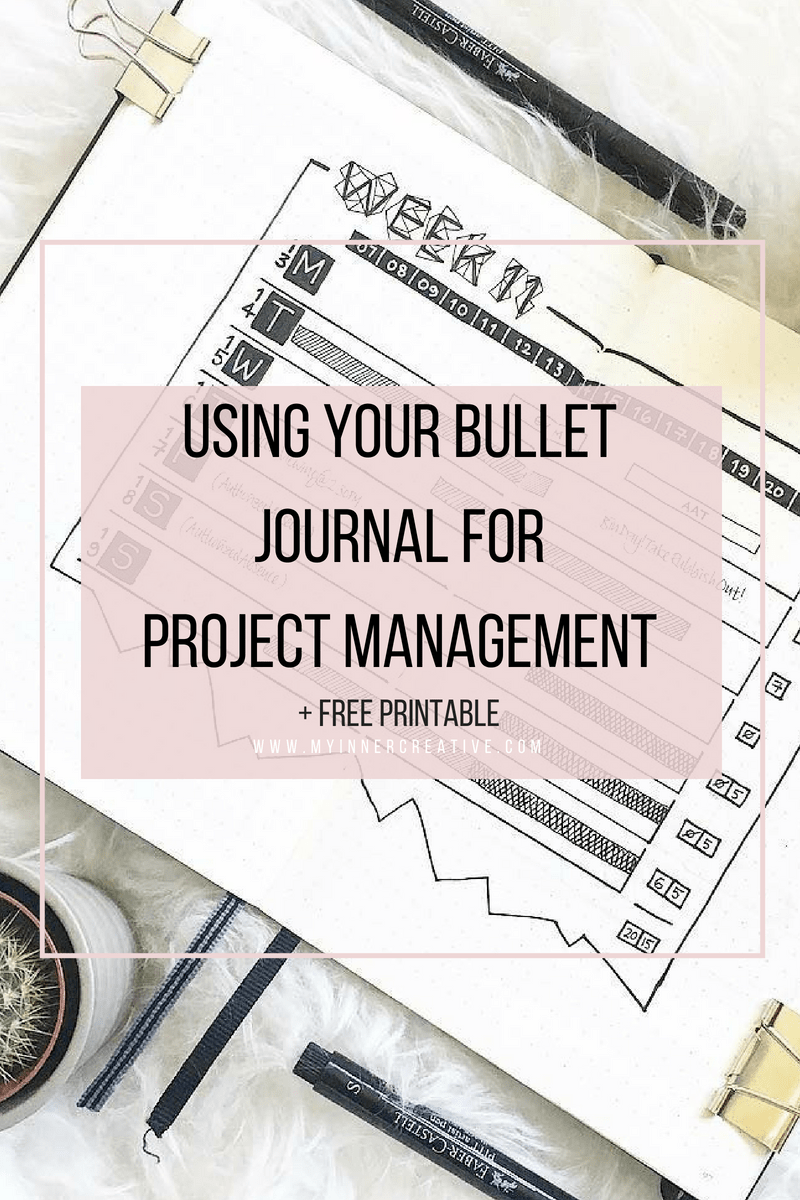 Project Management with Bullet Journaling (Free Template) | My Inner