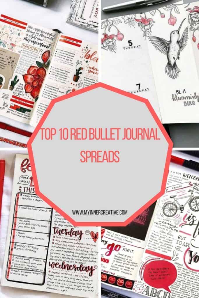 Red Bullet Journal