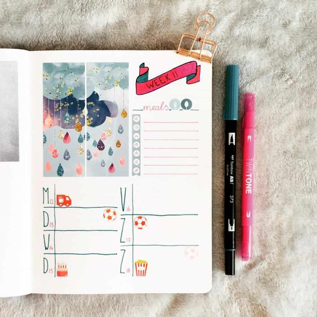 fixing bullet journal mistakes