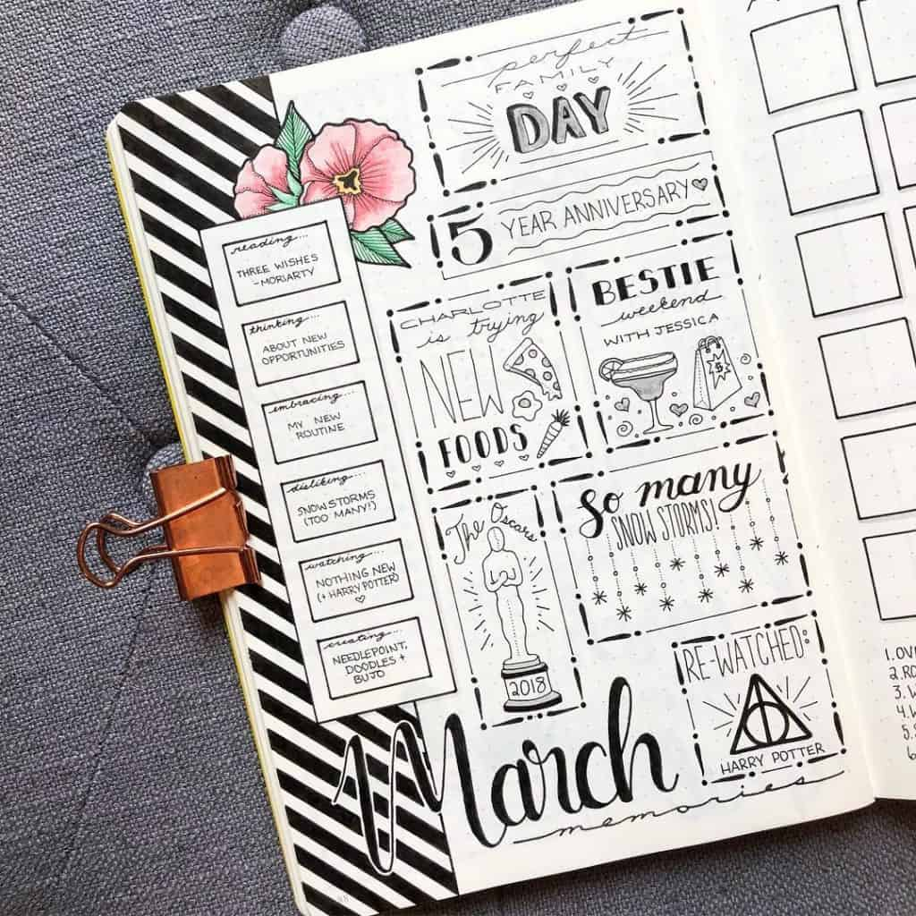 Interview Nicole plans that blossom bullet journal