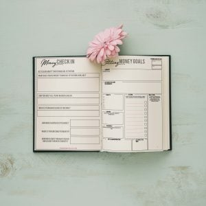 Financial Spread Bullet Journal Budgeting Ideas