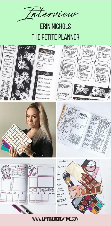 Interview Erin Petitie Planner Bullet Journal