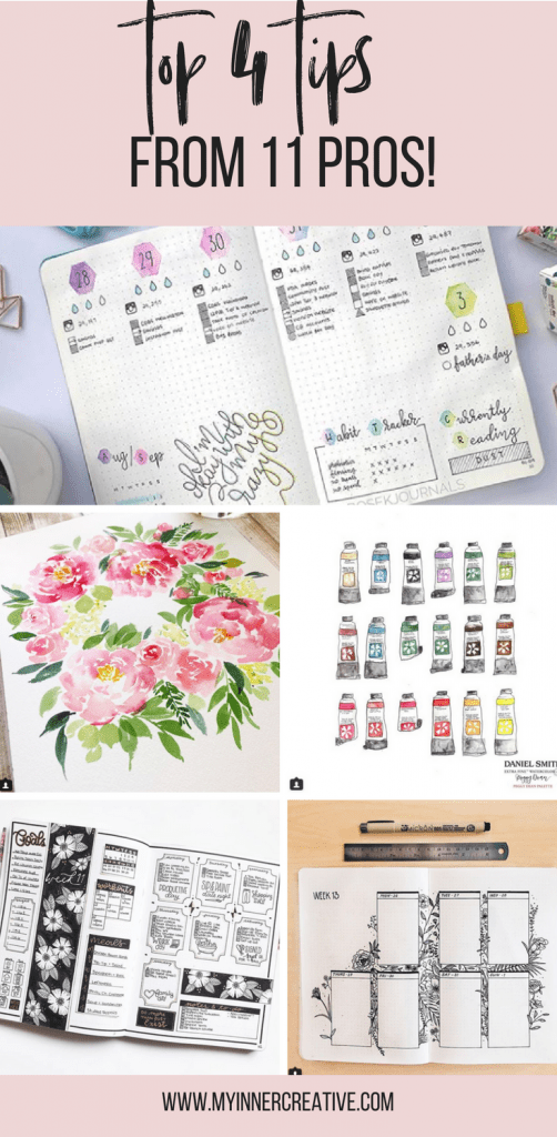 Bullet journal products from instagram