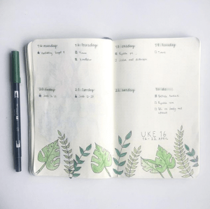 Coming Newbies bullet journal