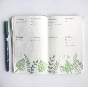 Coming Newbies bullet journal