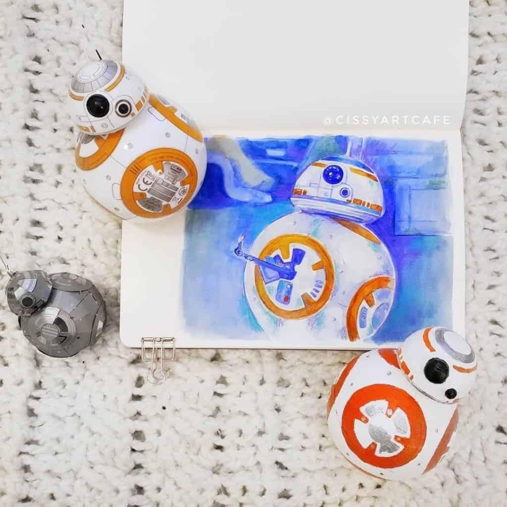 Star Wars themed bullet journal