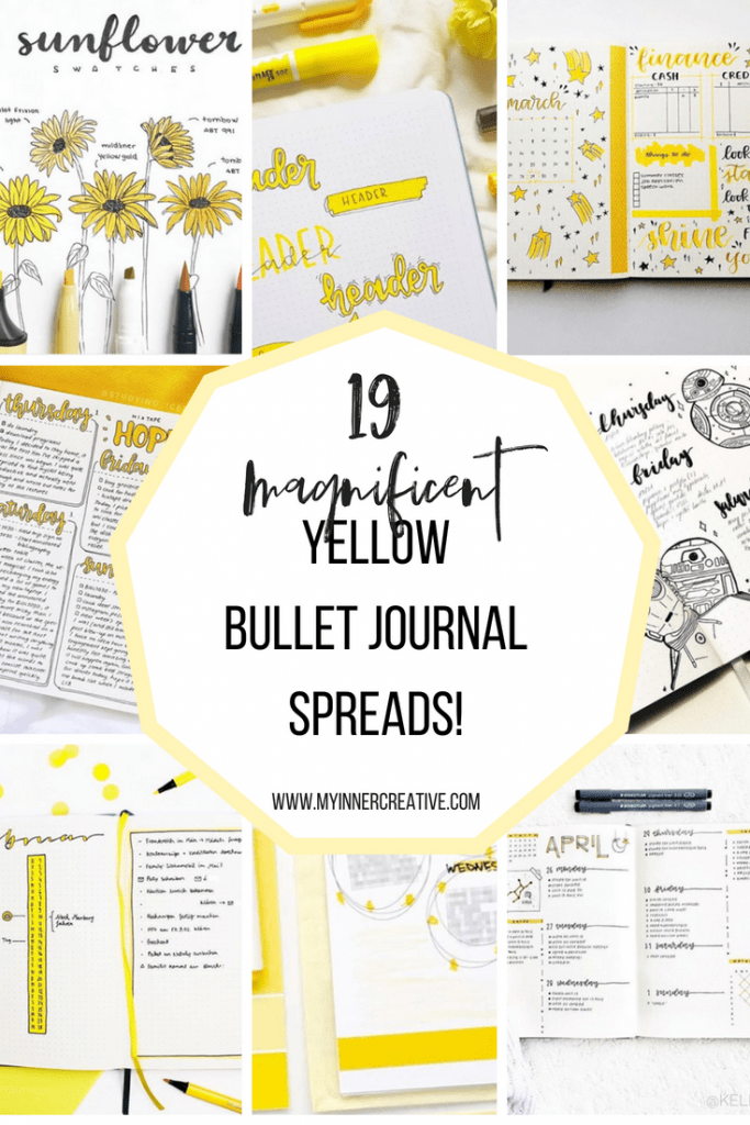 19 magnificent yellow spread