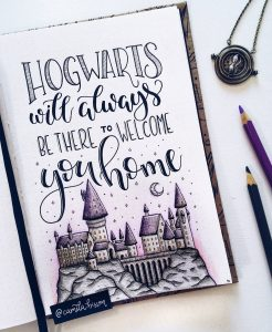 Spellbinding Harry Potter spreads