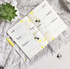 40 More Stunning Bee And Honey Bullet Journal Spreads My