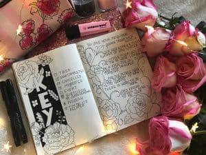 Awesome bullet journal keys