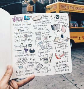 Draw your day sketching