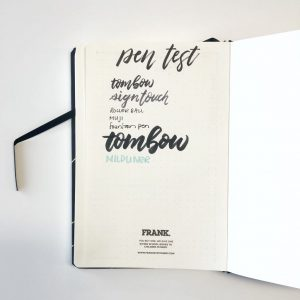 Review: Frank Stationery Dot Grid Journal