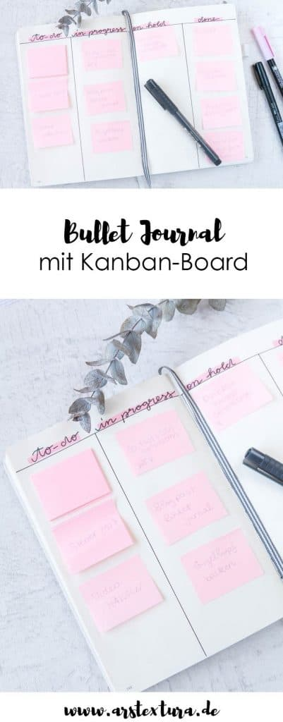kanban in your bullet journal