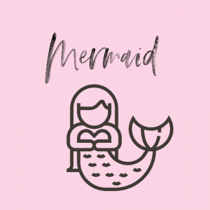 mermaid bullet journal spread