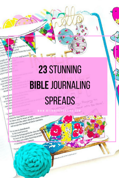 23 absolutely gorgeous bible journaling posts