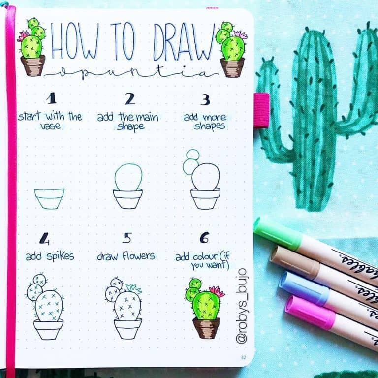 amazing doodle bullet journal