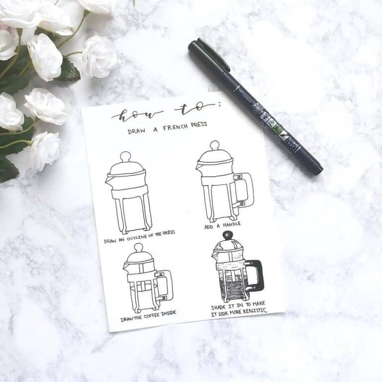 amazing doodle bullet journal