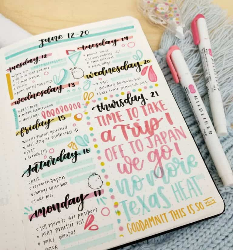 what is studygram and studyblr   30  layouts and schedules