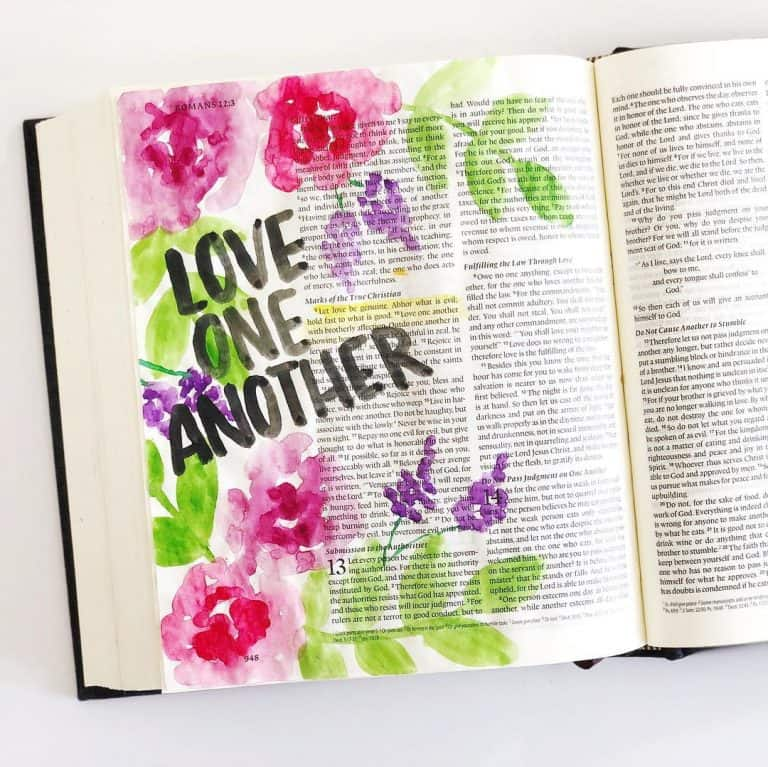 Everything you need to know about bible journaling