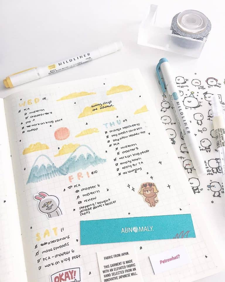 studyblr studygram study bullet journal