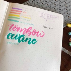 review inkbyjeng bullet journal