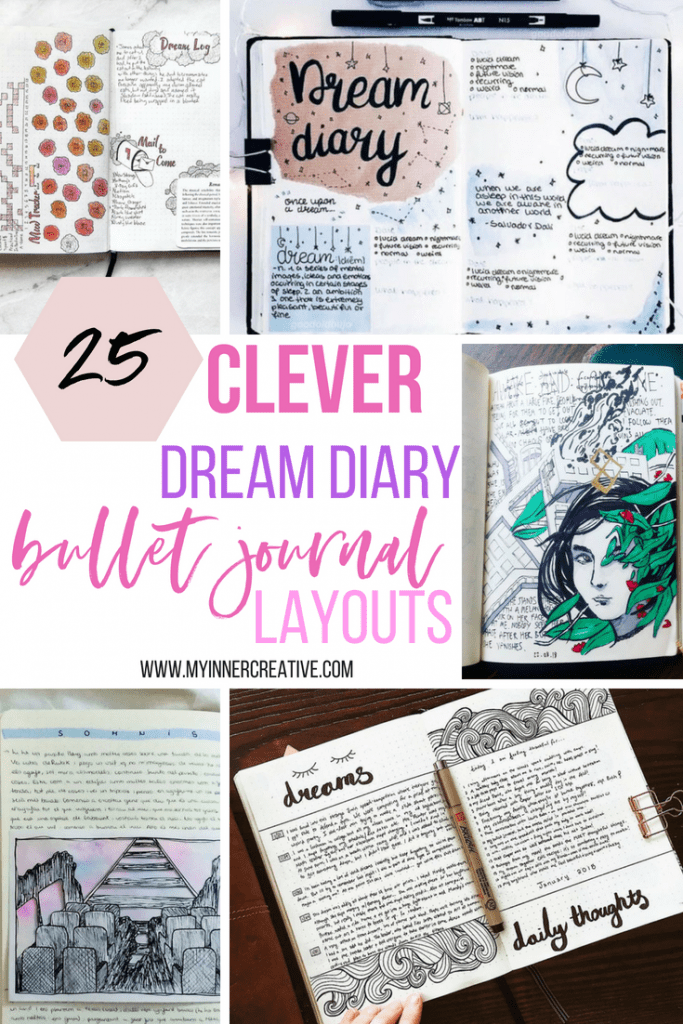bullet journal dream diary