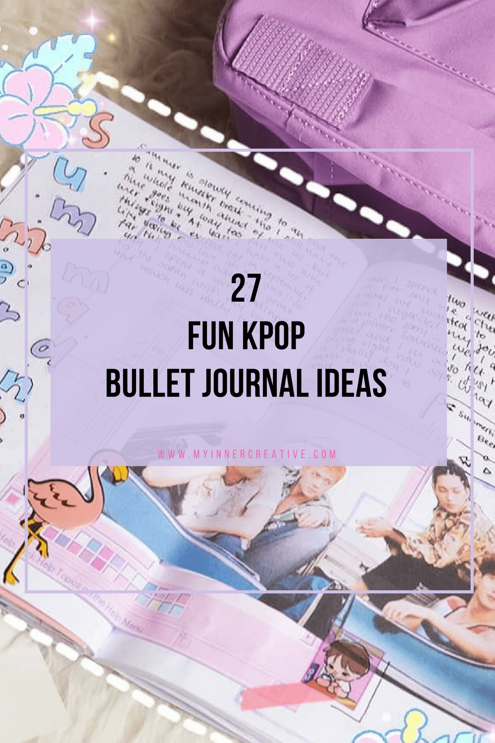 kpop bujo ideas