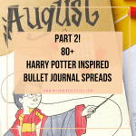 harry potter bujo inspiration