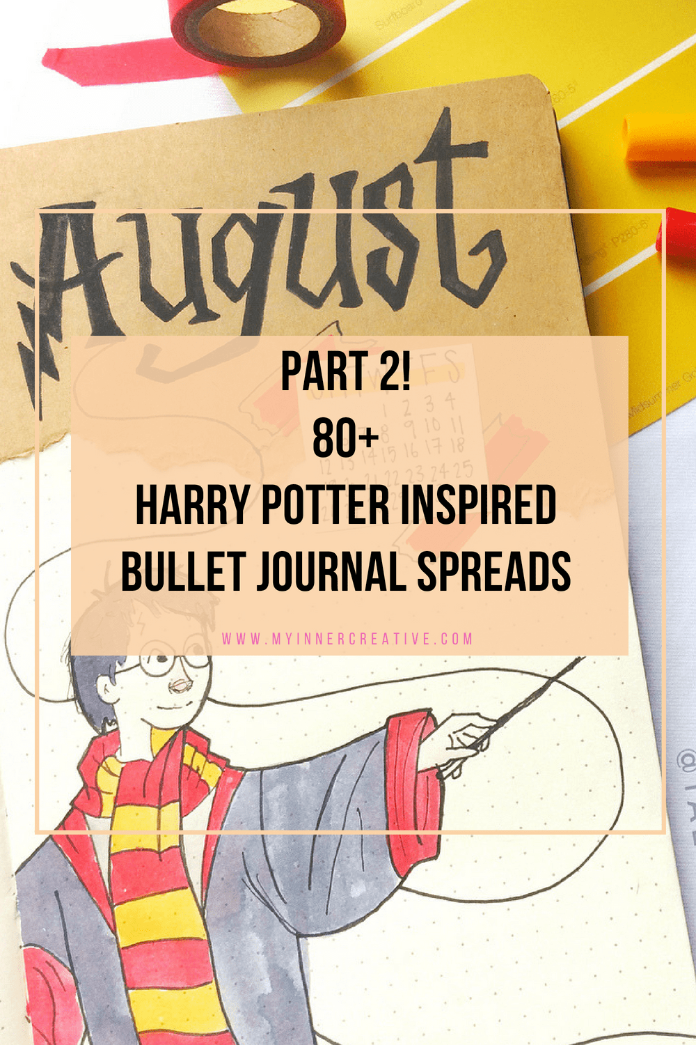 harry potter bujo inspiration