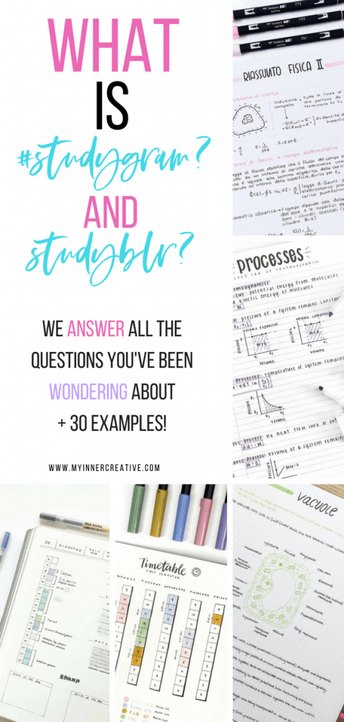 what is studygram studyblr