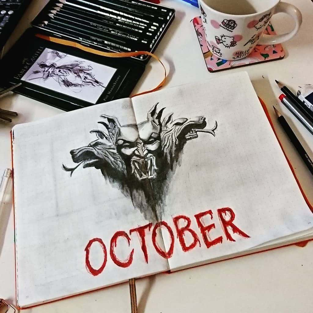 october cover spread