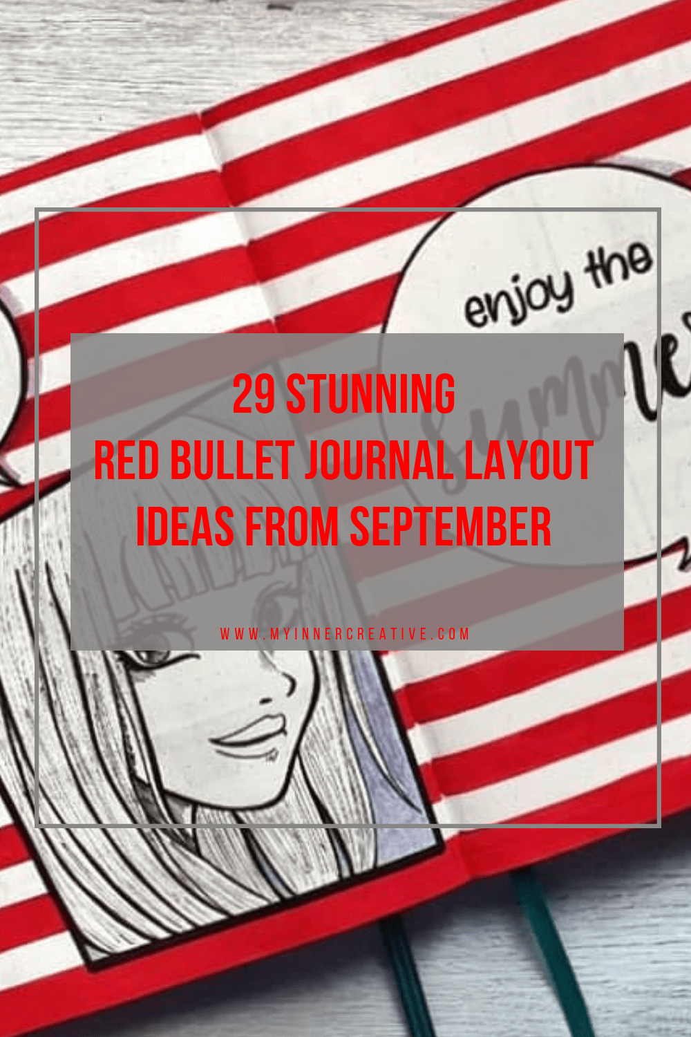 29 Amazing Red bullet journal layout ideas