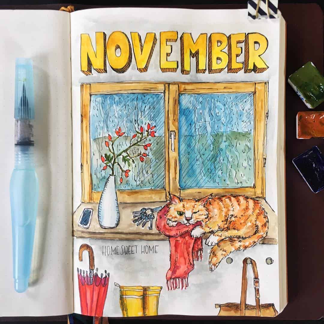 November cover page ideas