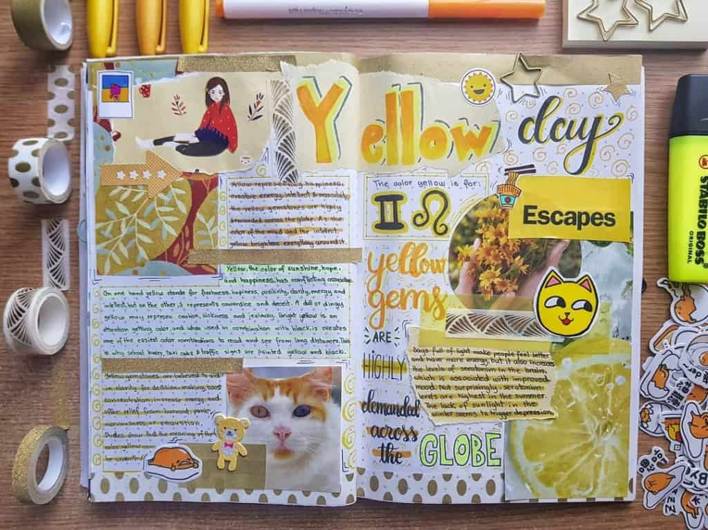 Yellow spread ideas