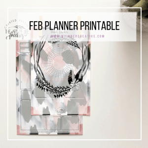 February Planner Printable