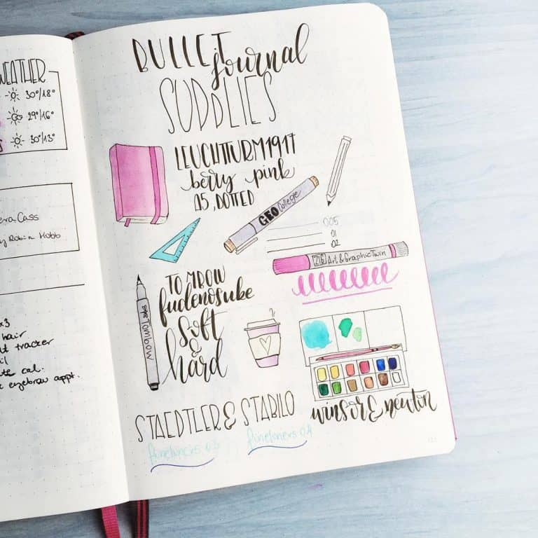 Bujo Summary and Essentials
