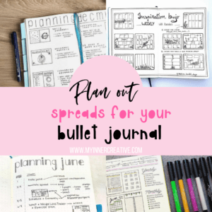 Spread Drafts and Layouts – Planning out your Bullet journal