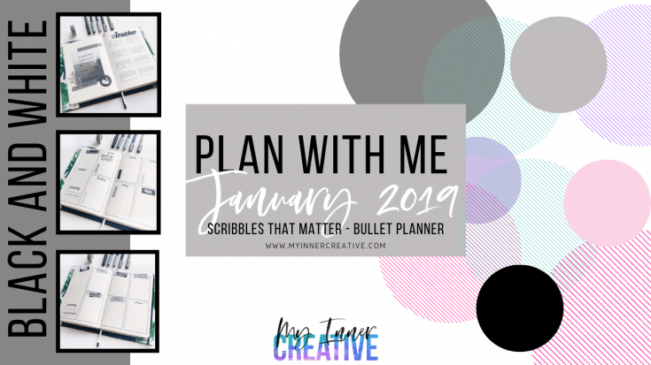 Amazing and Simple Bullet journal spreads for Janaury