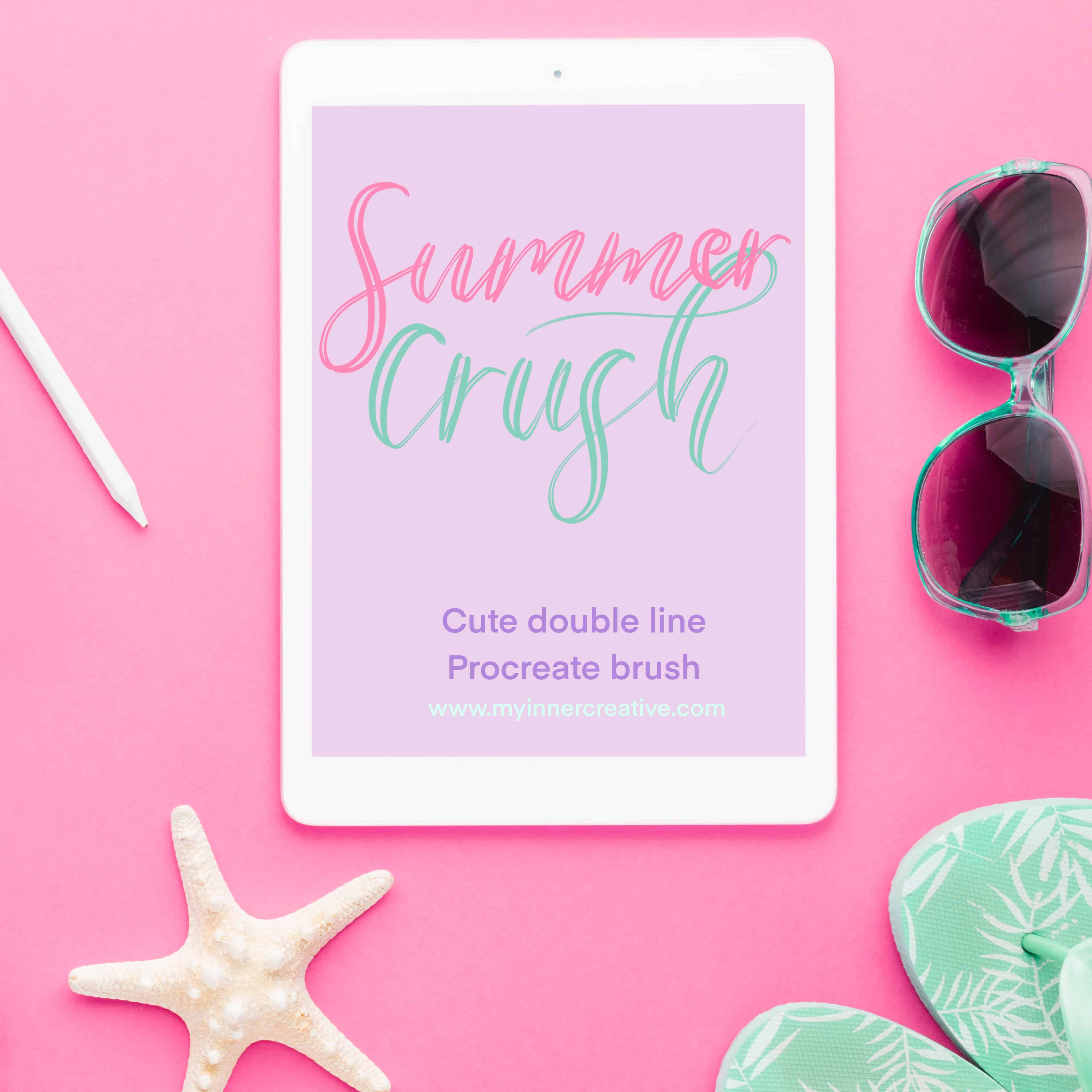 Summer Crush – double line freebie!