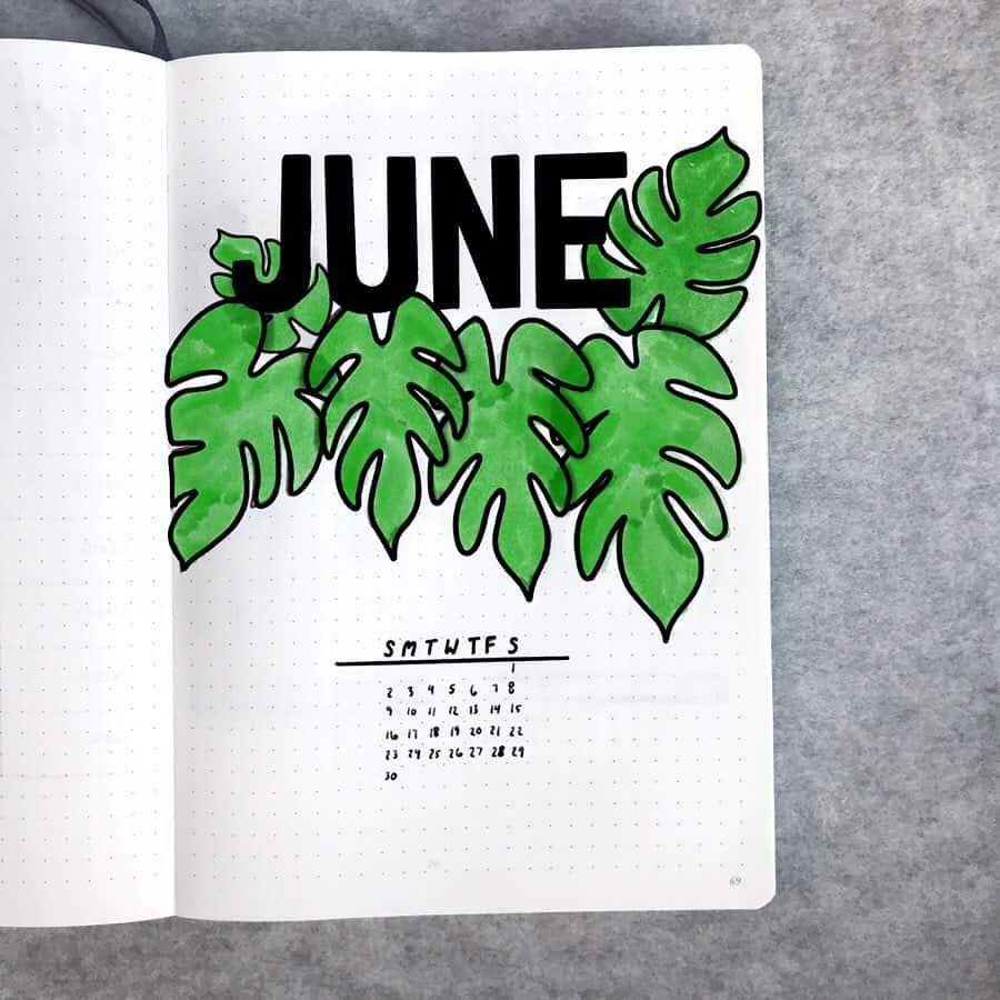 Month June