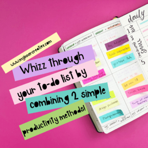 Combining the Eisenhower and 1-3-5 Method for productivity to whizz through your tasks!