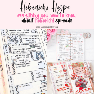 The Hobonichi Hype – What is a hobonichi planner and how you can fake it!