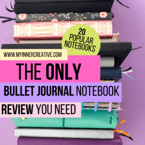 The only bullet journal notebook review you need for 2020! (20 Notebooks Reviewed!)