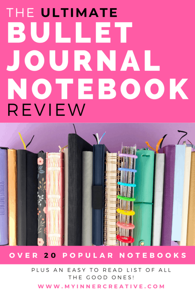 Ultimate bullet journal notebook review