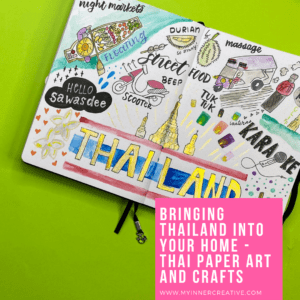 Bring Thailand into your home with these simple Thai inspired Paper Crafts!